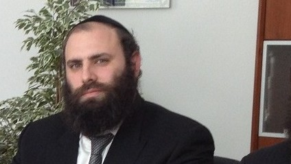 Rabbi Menachem Margolin (Crédit : Autorisation de l'European Jewish Association)