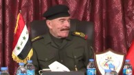 A screenshot of former Saddam Hussein deputy Izzat Ibrahim al-Douri in 2013. (screen capture: YouTube)