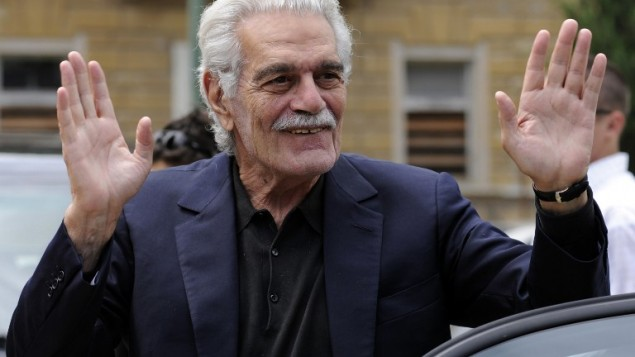 Sur cette photo datant du 28 juin 2008, l'acteur égyptien Omar Sharif est à la 16ème édition du Festival International du Film Artfilm à Trencianske Teplice, en  Slovaquie  (Crédit : AFP PHOTO/ FILES / Samuel Kubani)