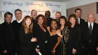 Celebrities at a benefit sponsored by the Survivor Mitzvah Project. Courtesy of Survivor Mitzvah Project