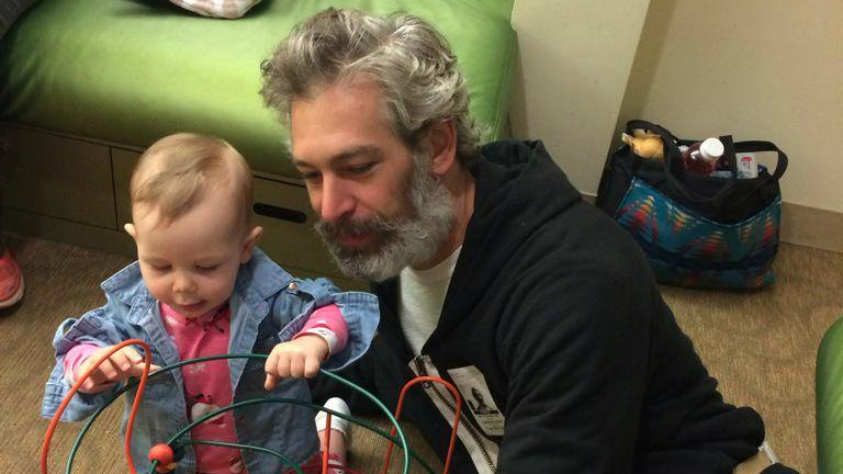 Photo of Matisyahu & his  Daughter  Sasha Lillian Miller