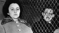 Julius and Ethel Rosenberg shortly before their execution for espionage in New York, 1953. Getty Images