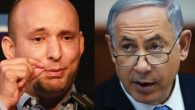 Frenemies? The new coalition is a partnership between Benjamin Netanyahu and Naftali Bennett.