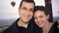 Silicon Valley power couple, Sheryl Sandberg, and late husband, Dave Goldberg. Via facebook.com/sheryl