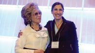 ISEF president Nina Weiner and International Fellow Sarit Buzaglo. Courtesy of ISEF Foundation