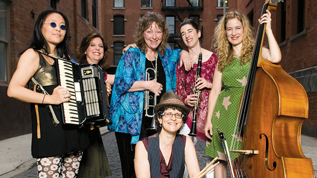 The all-woman klezmer sextet Isle of Klezbos will be at Joe's Pub on June 19.