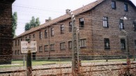 An Auschwitz barracks