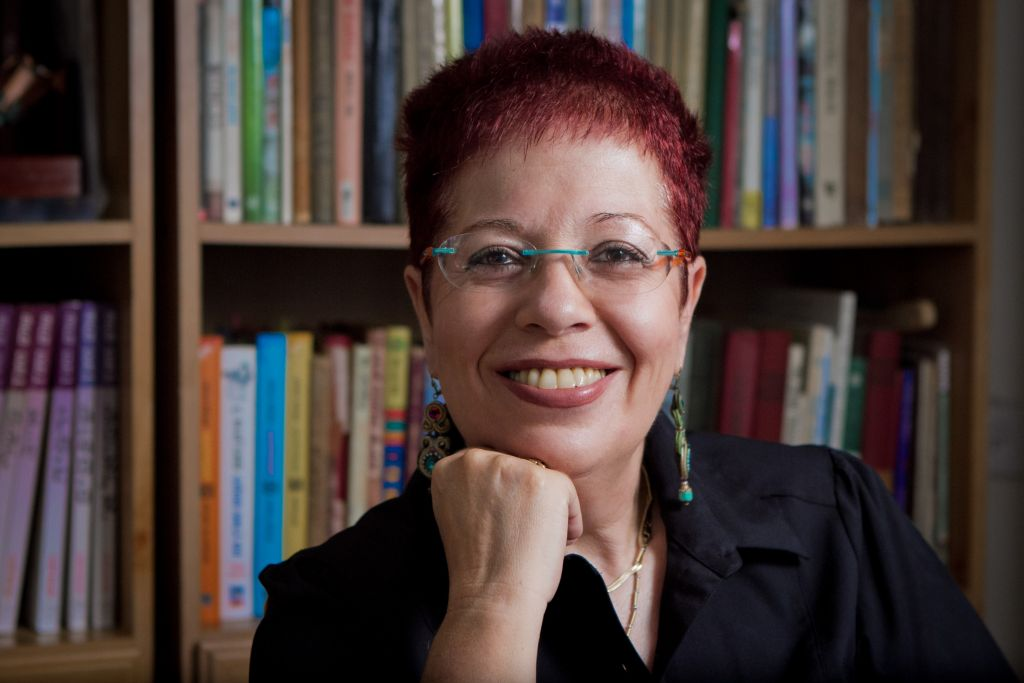 Author and journalist Nava Semel works with Remember the Women Institute. (Nitzan Lote)