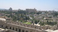 Panorama: part of West Jerusalem. Wikimedia Commons