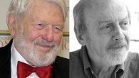 Theodore Bikel, left, and E.L. Doctorow, found fame in the United States but approached Jewish life in different directions.