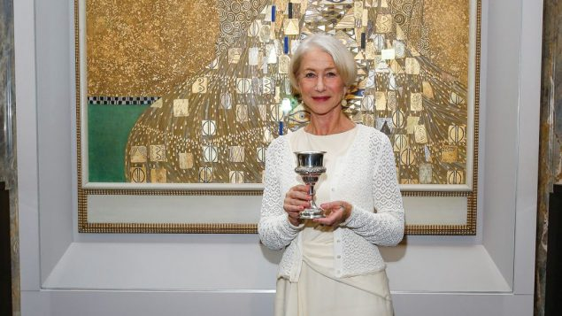"""Helen Mirren: Honored by World Jewish Congress for role in """"Woman in Gold."""" Hahar Azran"""
