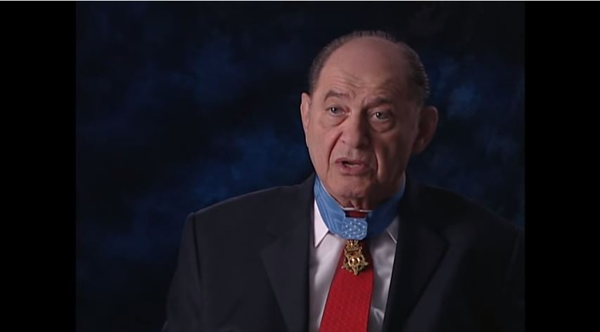 Medal of Honor recipient Tibor Rubin is the subject of a new book, 'Single Handed.' (YouTube screenshot)