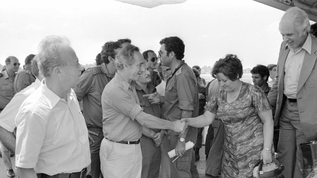 39 Years After Entebbe Idf Releases Operation Log The