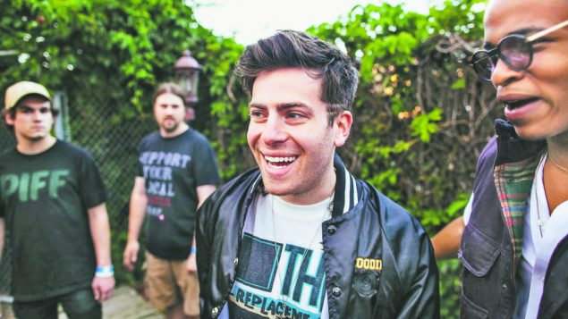 Hoodie Allen Runs With Boys of Zummer 1