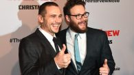 "James Franco and Seth Rogen at a premiere for their film ""The Interview."" Getty Images"