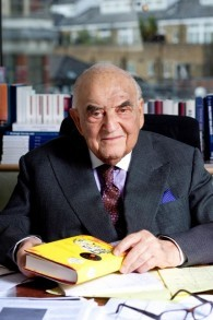 Lord George Weidenfeld (Photo: Autorisation)