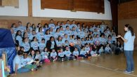 Families at a Tikvah Shabbaton at Ramah New England. Courtesy of Camp Ramah