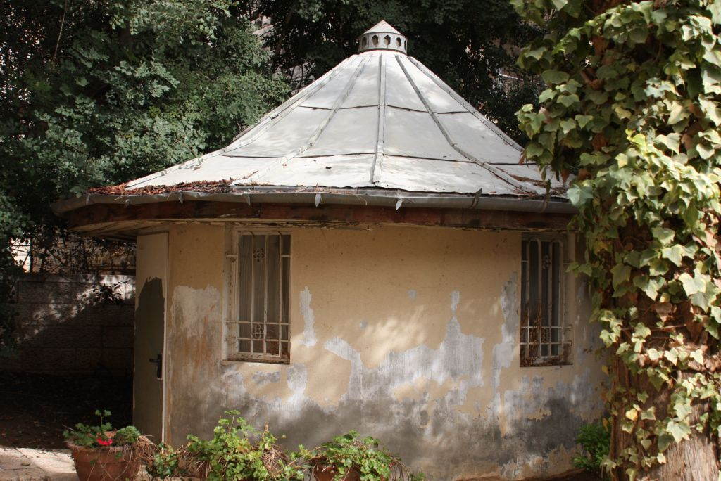 The gardener's hut at Ramban 30 (Shmuel Bar-Am)