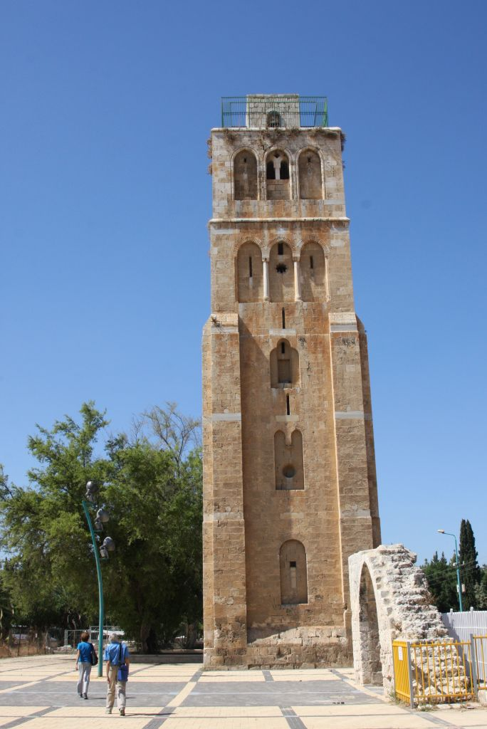 The White Tower complex in Ramle (Shmuel Bar-Am)