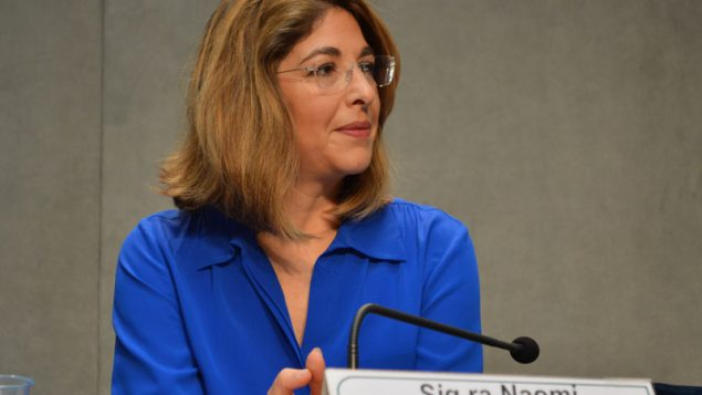 Anti-capitalism activist Naomi Klein praised Pope Francis for standing up to Republicans warring against environmentalist. RNS