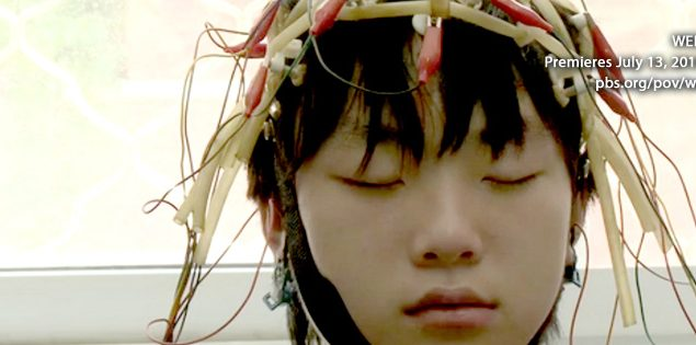 Web Junkie explores internet addiction and repressive rehab programs established to deal with it. Courtesy of PBS.