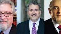 Rabbis Gerald Skolnik, Robert Levine and Haskel Lookstein.