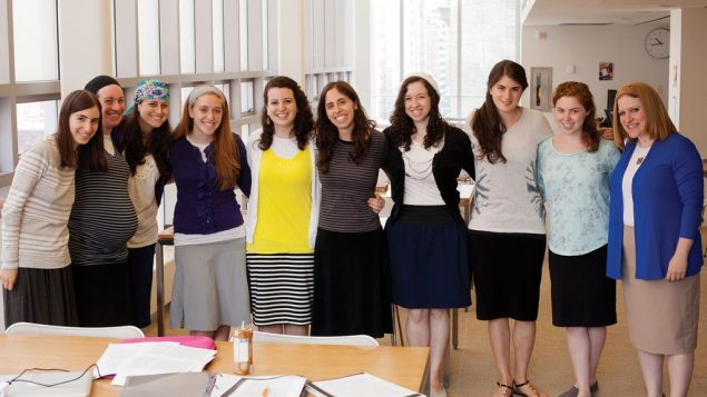 Participants in YU's Graduate Program for Advanced Torah Study represent the school's commitment to educating women.
