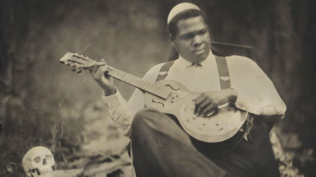 Old soul: Jerron Paxton is a rising blues star who honors his Jewish roots. Bill Steber
