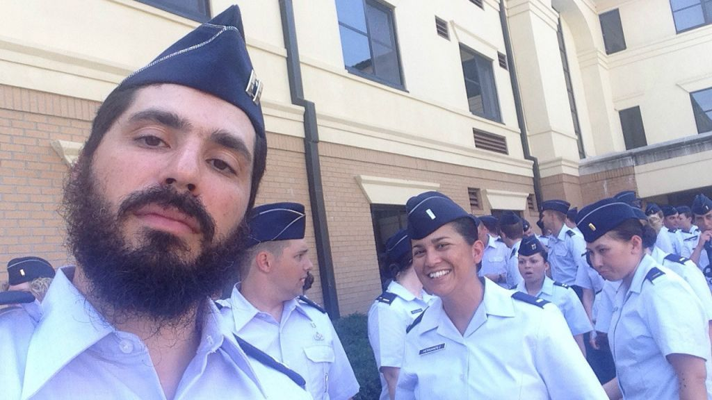 A Chabad rabbi makes United States Air Force history | The Times ...