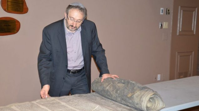 Beth Shalom bringing burned Holocaust Torah back to life 1