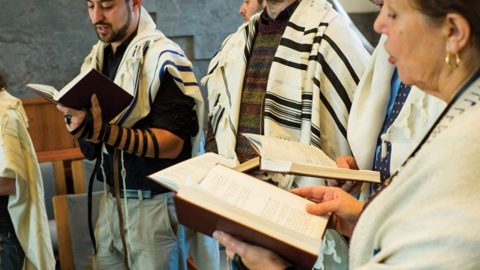 Rabbinical students at JTS will experiment with different types of prayer at the new Block/Kolker Center for Spiritual Arts.