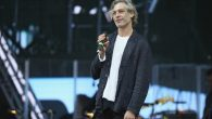 Matisyahu performing at the opening ceremony of the European Maccabi Games on July 28, 2015, in Berlin. JTA