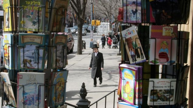 In Williamsburg, chasidic kids tend to be excellent readers — in Hebrew and Yiddish. English, not so much. Michael Datikash/JW