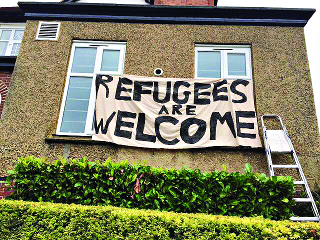 4 Refugees welcome