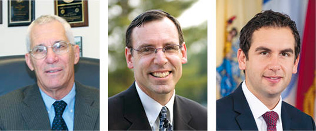 Left, Peter Rustin of Tenafly feels that being Jewish makes the need to sign the letter even more clear. John Rosen is the Anti-Defamation League's New Jersey director. Mayor Steven Fulop of Jersey City is the grandson of Holocaust survivors.