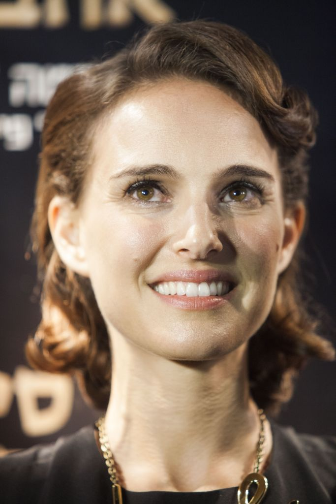 "Natalie Portman smiles during a photocall for her film ""A Tale of Love and Darkness"" in Jerusalem, Thursday, Sept. 3, 2015. (AP Photo/Dan Balilty)"