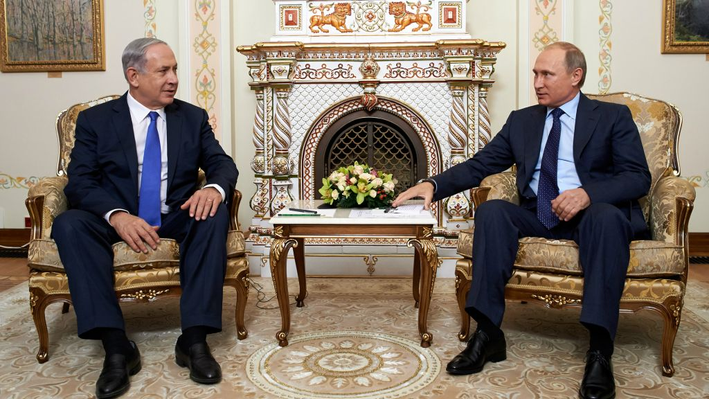 Image result for Netanyahu to meet Putin over 'recent development' in Syria