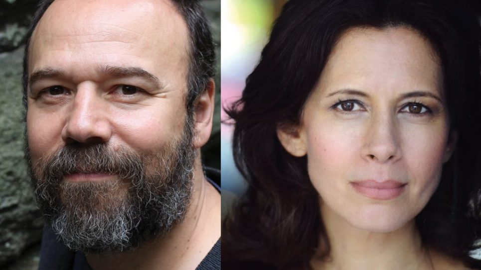 "Danny Burstein plays Tevye and Jessica Hecht is Golde in the new, Bartlett Sher-directed production of ""Fiddler on the Roof."""