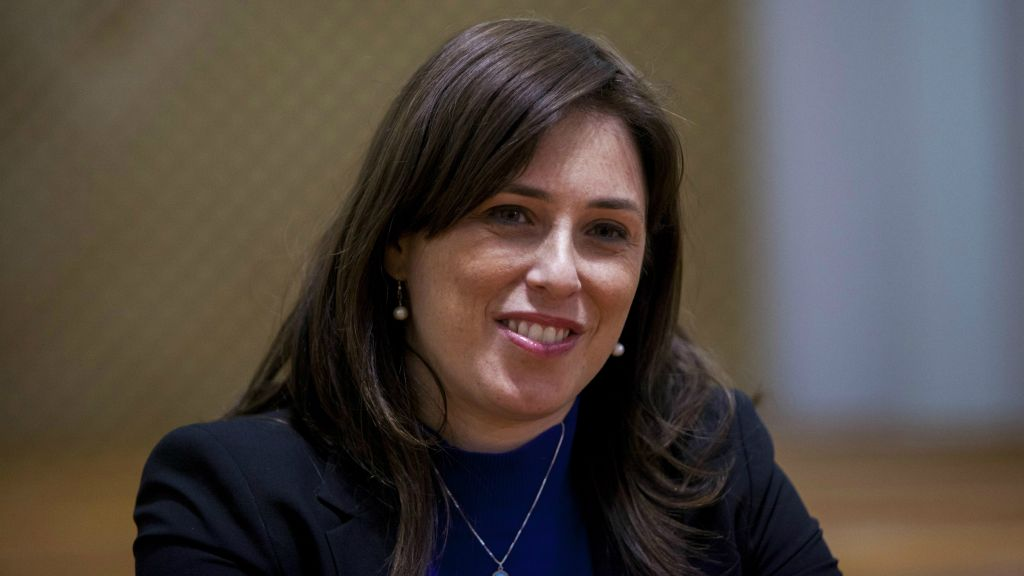 Tzipi Hotovely on January 27, 2015 (Yonatan Sindel/Flash90)