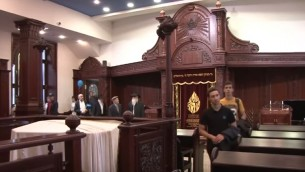 La synagogue de Kazan en Russie (Capture d'écran YouTube)