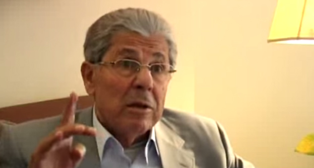 Antoine Lahad speaking to the media in 2006 (screen capture:YouTube)