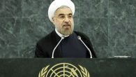 Iranian President Hassan Rouhani addressing the U.N. General Assembly in New York. JTA