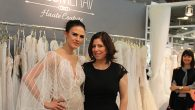 Designer Merav Solo with model Lara Vosburgh after a recent show. Hannah Dreyfus/JW
