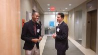 Councilman Ritchie Torres, the first openly gay councilman from the Bronx, left, and Councilman Mark Levine.
