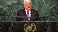 Speaking at the United Nations Wednesday, PA President Mahmoud Abbas. Getty Images