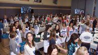 "The scene at last week's ""Challah Make"" event in Scarsdale. Dana Asher/UJA-Federation of New York"