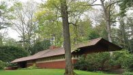 The Frank Lloyd Wright-designed Zimmerman House in Manchester, built in 1950 for a Jewish doctor. Hilary Danailova/JW
