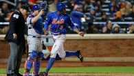 Mets play the Cubs during the 2015 MLB National League Championship Series at Citi Field. Getty Images