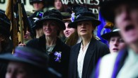 Anne-Marie Duff (Violet) and Carey Mulligan (Maud) in SUFFRAGETTE