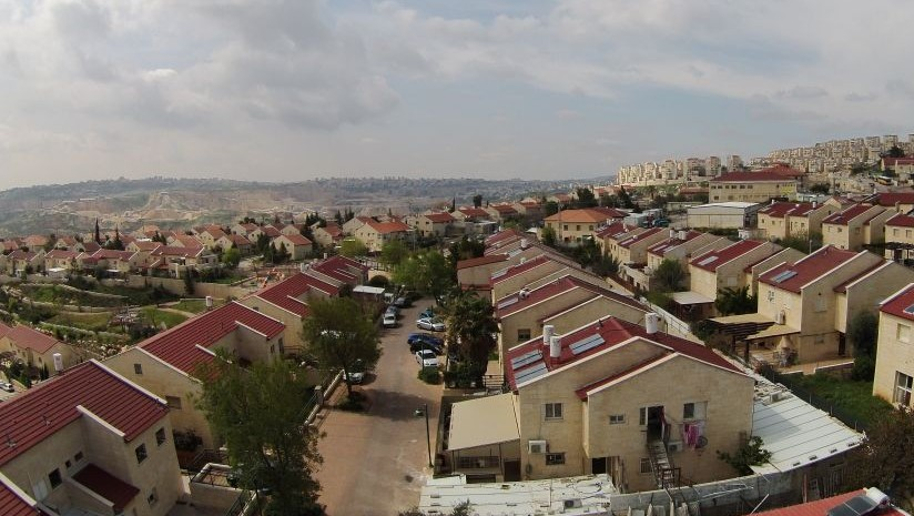 The West Bank settlement of Kochav Yaakov. (CC BY-SA Jonathan Caras/Wikimedia Commons)